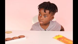 TALKING CANDY TEMPTS KID TO EAT