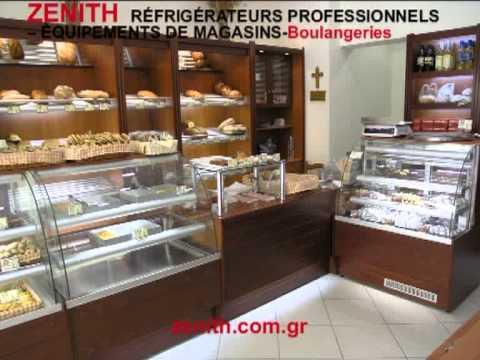 Th r frig rateurs professionnels quipements de magasins boulangeries youtube - Decoration boulangerie patisserie ...