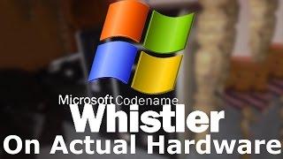 Installing Windows Whistler On Actual Hardware!
