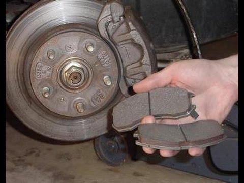 Как заменить передние тормозные колодки на ваз 2109 видео