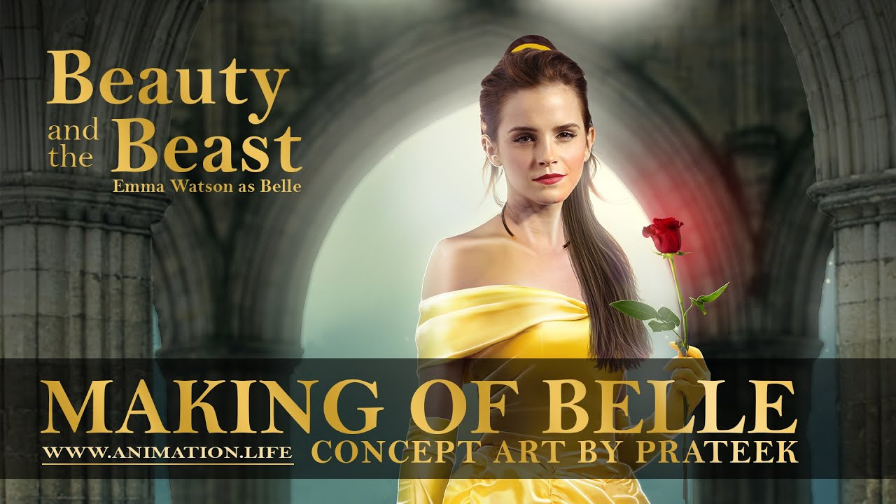 Making Of Belle Poster 2017 Beauty And The Beast Concept Art