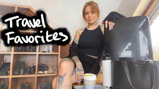 TRAVEL FAVORITES | luggage, makeup & misc.