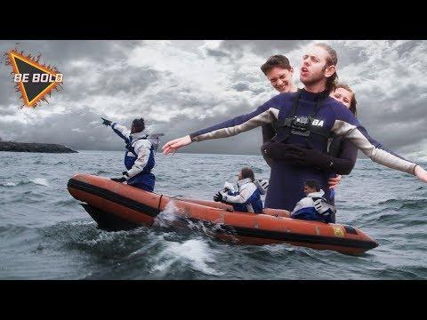 Helt lost på havet! | Ep1 | Be Bold | Reklame for Doritos