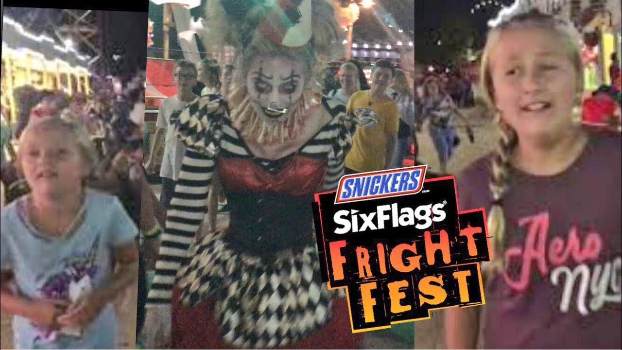 fright fest 2018 opening night six flags great adventure halloween