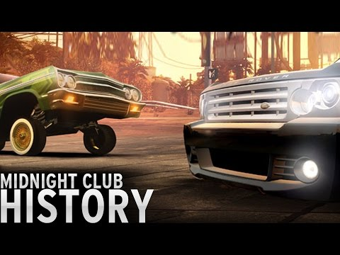 History of  Midnight Club 20002008