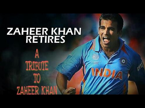 A TRIBUTE TO ZAHEER KHAN
