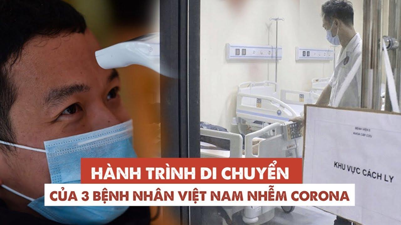 3 người Việt Nam nhiễm virus corona đã đi những đâu, bây giờ họ ra sao?