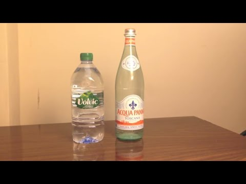 Jon Drinks Water #3671 Acqua Panna VS Volvic Water