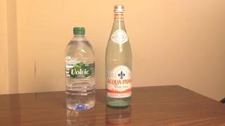 Jon Drinks Water #3671 Acqua Panna VS Volvic Water