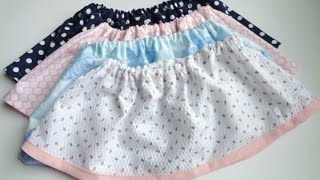 How Sew Cute Skirt Any Girl