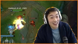 Streamer Falls off of his Chair After Stopwatch Play - Best of LoL Streams #295