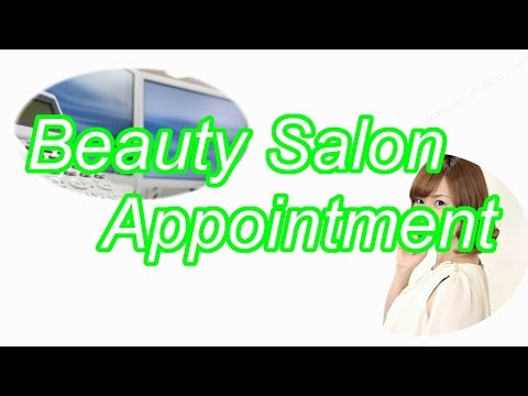 Going To The Beauty Salon Learn English Online Doovi