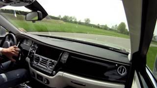 Rolls Royce Ghost on Track - Drift - Vairano