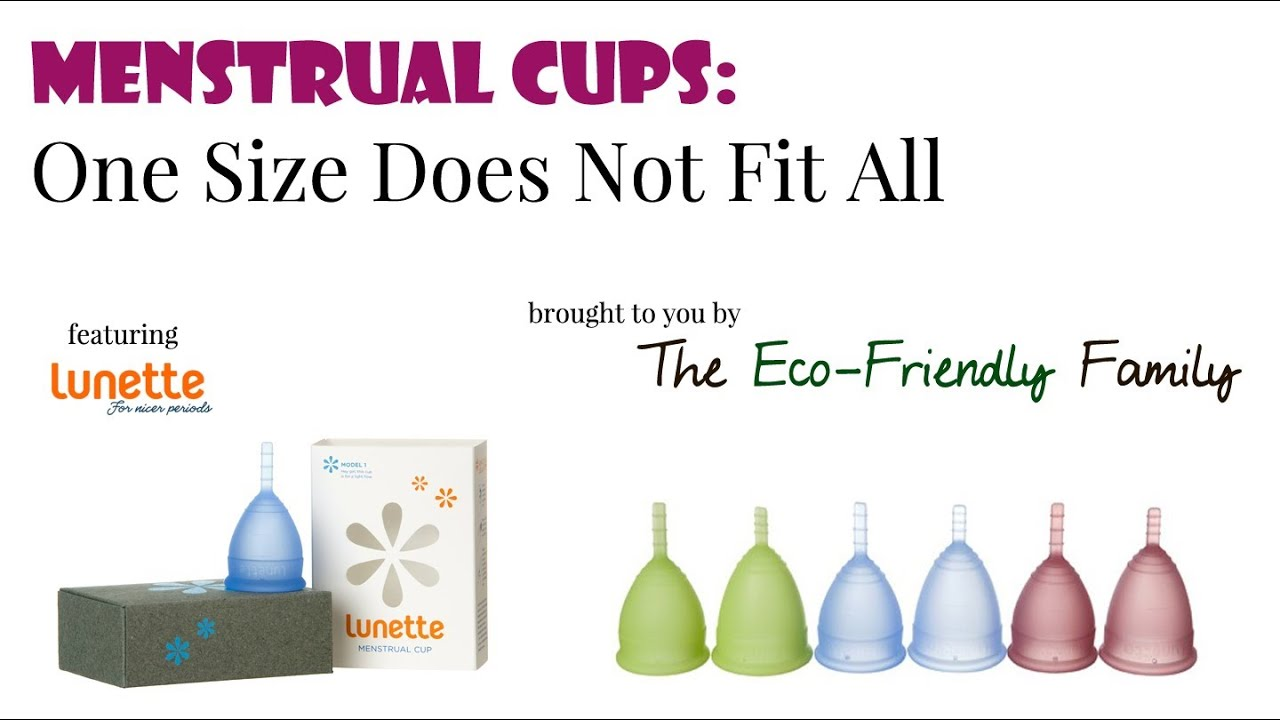Menstrual Cups: One Size Does Not Fit All - YouTube
