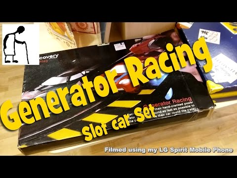 Charity Shop Short – Generator Racing Slot Car Set