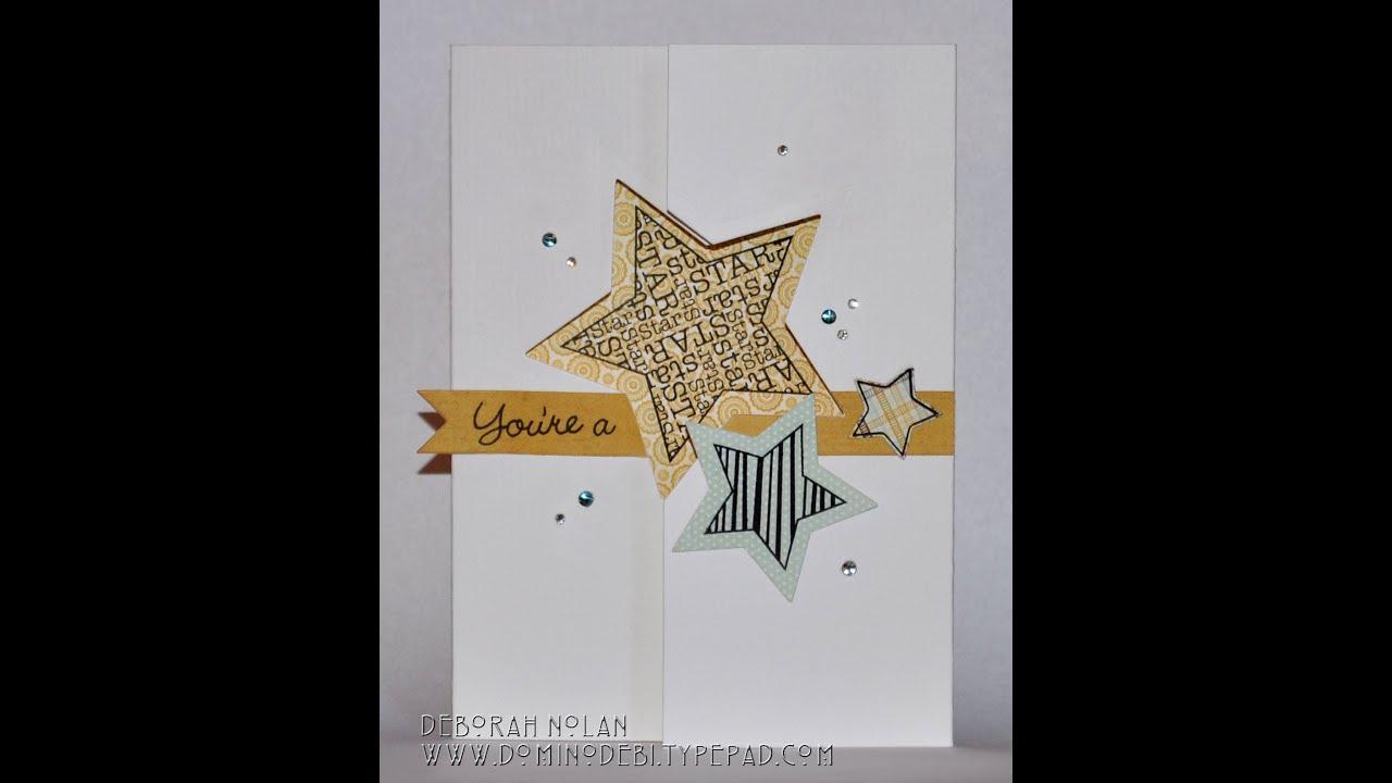Handmade greeting card youre a star youtube handmade greeting card youre a star kristyandbryce Images