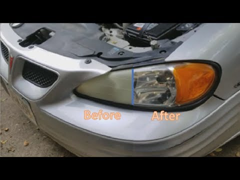 Restore Headlights in Less Than 5 Minutes (Cheap & Easy)