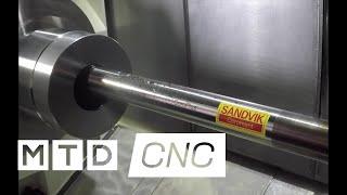 Sandvik Coromant Silent Tools Plus Intelligent Tooling at Mazak