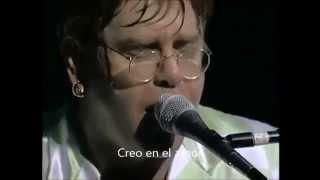 """ELTON JOHN """"BELIEVE"""" (Live'95) SUBTITULADO AL ESPAÑOL"""