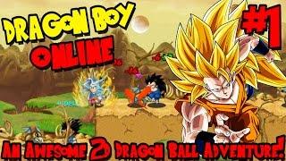 AN AWESOME 2D DRAGON BALL ADVENTURE! | Dragon Boy Online - Episode 1