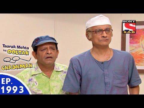 Taarak Mehta Ka Ooltah Chashmah - तारक मेहता - Episode 1993 - 2nd August, 2016