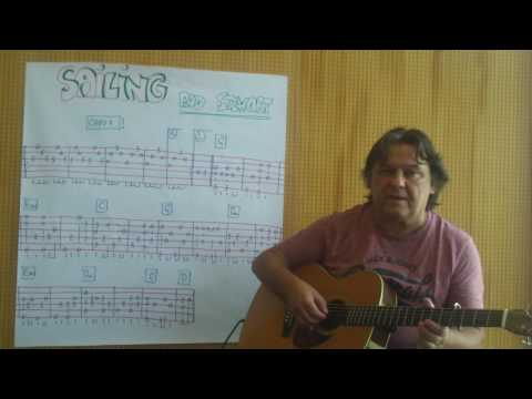 Fingerstyle Guitar Lesson #127: SAILING (Rod Stewart)