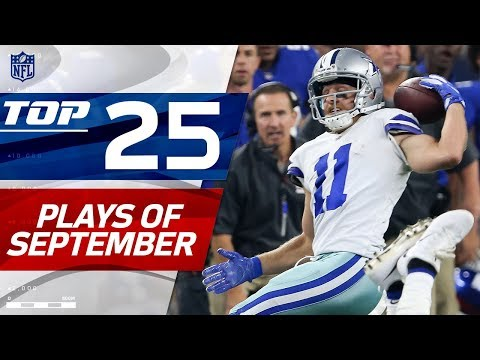 Top 25 Plays of September | NFL Highlights