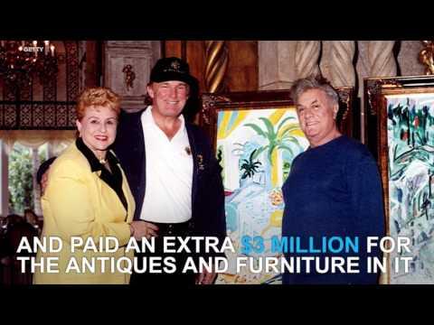 A look inside Donald Trump's Mar-a-Lago mansion