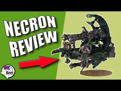 Necron Unit Review - Necron Annihilation Barge isn't Meh!