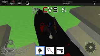 Playing CVS -in roblox