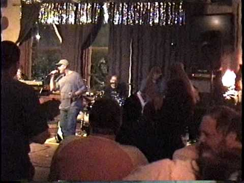 """Tom Costello with Black Wolf singing """"Roadhouse Blues"""""""