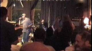 "Tom Costello with Black Wolf singing ""Roadhouse Blues"""