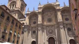 Испания: Гранада - Прогулка по городу(Full HD качество можно скачать здесь: http://yadi.sk/d/-xX8GQQ-7xc1d Представлены основные достопримечательности Гранады,..., 2013-08-16T22:08:16.000Z)