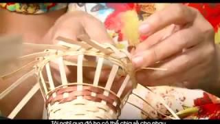 VNGN: Tìm hiểu nghề mây tre đan Ninh Sở