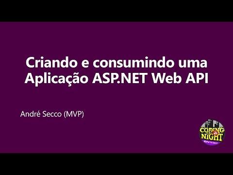 Criando e consumindo uma aplicação ASP.NET Web API