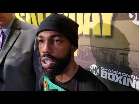 Gary Russell Jr. Post Fight Interview After Defeating Joseph Diaz Jr.!