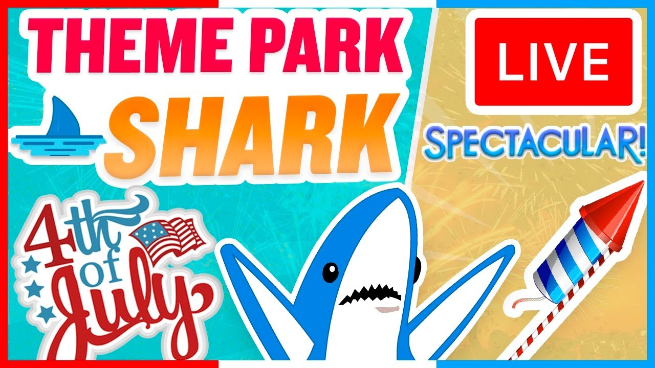 🔴 LIVE: 4th of July Fireworks Show from Theme Park Shark in Orlando