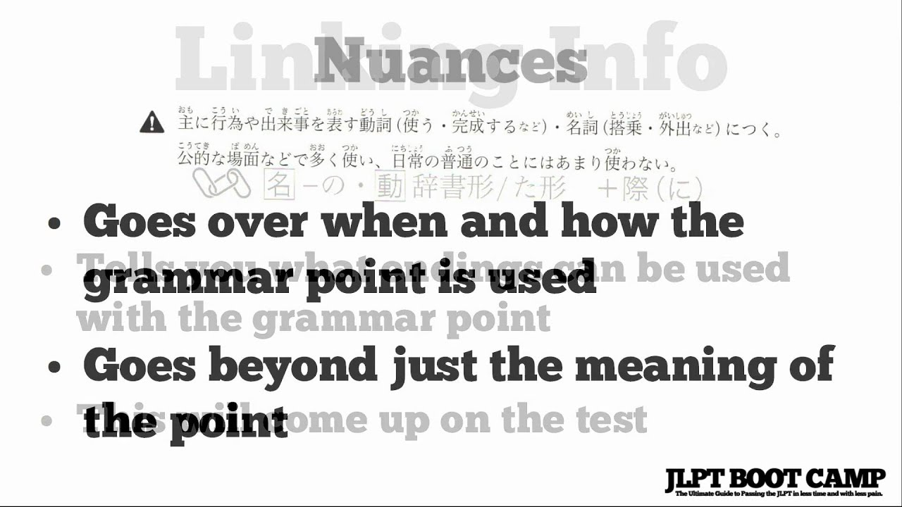 JLPT N2 Grammar Resource: New Kanzen Master N2 Grammar