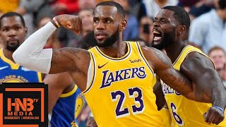 Los Angeles Lakers vs Golden State Warriors Full Game Highlights | 10.10.2018, NBA Preseason thumbnail