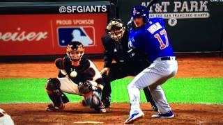 Kris Bryant Home Run 2016 NLDS Game 3 Vs Giants