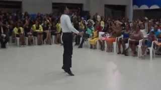 Daniel Bergue na Assembléia de Deus em Breu Branco-Pa Vencendo de Pé