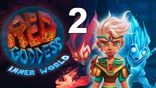Red Goddess: Inner World PS4 Gameplay Part 2 - Rage And Fear