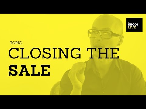 How To Close The Sale For Design Jobs.