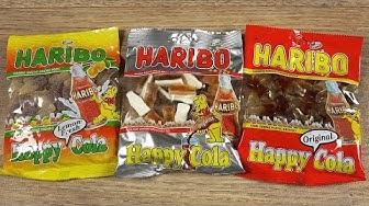 HARIBO - 3x Happy Cola