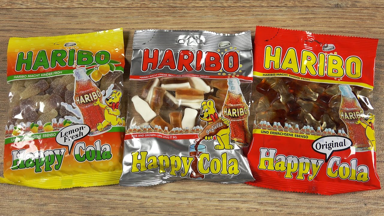 haribo 3x happy cola youtube. Black Bedroom Furniture Sets. Home Design Ideas