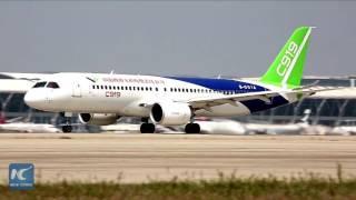 بالفيديو.. الصين تعلن دخولها رسميًا عالم صناعة الطائرات التجارية الكبرى