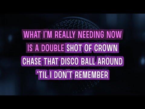 Bartender Karaoke Version by Lady Antebellum (Video with Lyrics)