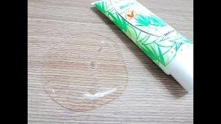 Clear Slime No Glue 1 Ingredients,DIY Clear Slime 1 Ingredients