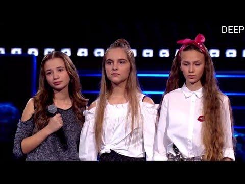 Dąbrowska, Jeleń, Rom 'I wanna dance with somebody'   Bitwy   The Voice Kids 2