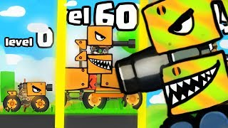 IS THIS THE STRONGEST HIGHEST LEVEL TANK EVOLUTION? (9999+ BOSS UPGRADE) l Super Tank Rumble